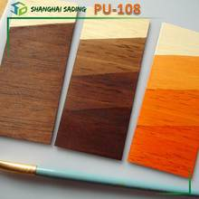 Water based polyurethane for wood varnish PU-108