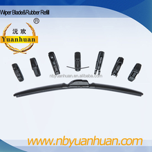 YH-188 8in1 Frameless Flexible Rubber Windshield Wiper Blade Universal Adapter left hand driving right hand driving available