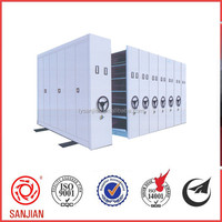 Durable quality hot sell used Metal Mobile Filing Storage Library Equipment