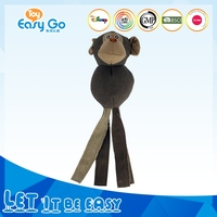 China Factory New Design Animal Pet Toys Stuffed Monkeys Toy For Cat Dog