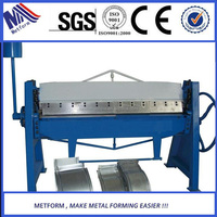 hand operated bending folding machine,metal plate folding machine for aluminum sheet