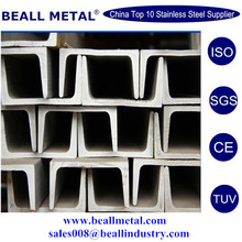 ASTM 304/304L/316/316L/310S/321/347H CHANNEL BARS for building construction material_mill Direct Sales&Free Samples