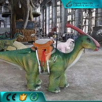 Walking Park Animal Dinosaur Rides Animatronic For Entertainment