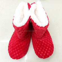 China Shoes Fashion Winter Warm Wool Indoor Boots Cheap Wholesale Women Boots