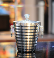 2L stainless steel metal ice bucket for wine