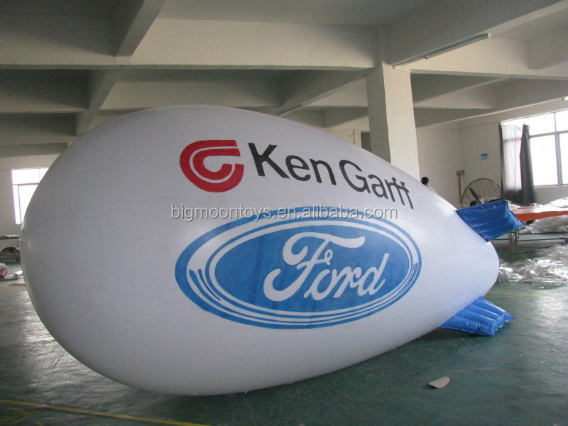 Outdoor advertising material/ Inflatable Blimp with logo printedv inflatable airship