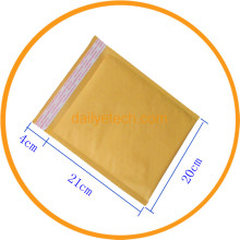 20x21+4cm Kraft Envelope Mailing Bag for CDs Electronic Products from dailyetech