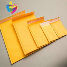 China Factory Gold Paper Wrap Bubble Pack Kraft Envelope, Express Mailing Bag