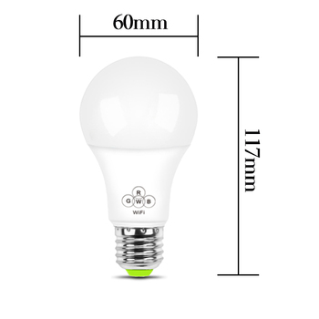 A60 led bulb Free APP bluetooth energy bulb Multiple Color Available LED Smart Bluetooth Dimmable Mesh Light Bulb For Protecting