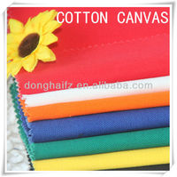 100% cotton waterproof canvas fabric for tent