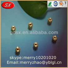 dongguan Precision small/big/mini brass worm gears ISO9001 passed