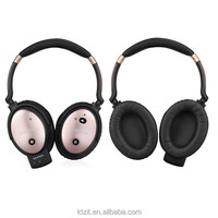 High Quality Personal Patent 23DB Active Noise Cancelling Headphone Wireless Bluetooth Headset