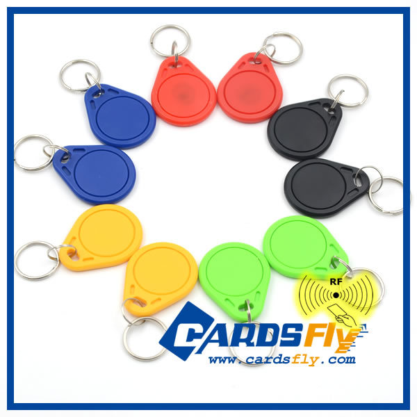 Custom cheap 125khz rfid tags /rfid key fob for access control
