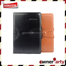 High Quality Leather Notebook Portfolio