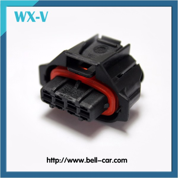 4 Pins Female PA66-GF20 Automotive Connector 1928403736