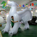 3m Height Inflatable White Dragon for Sale