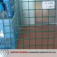 Anping Wanhua-1''x1.9mm PVC Coated Welded Wire Mesh factory