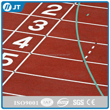 Polyurethane bound rubber granules sports surface