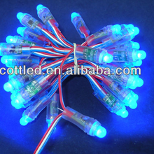 programmable IP68 Rated WS2811 pixel node,50pcs one string,12mm led nodes