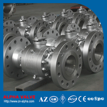 BS 5351 Reduced Bore Flanged Trunnion Ball Valve