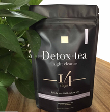 Private Label Service 28 Days Infusions Night Cleanse Flat Tummy Detox Tea