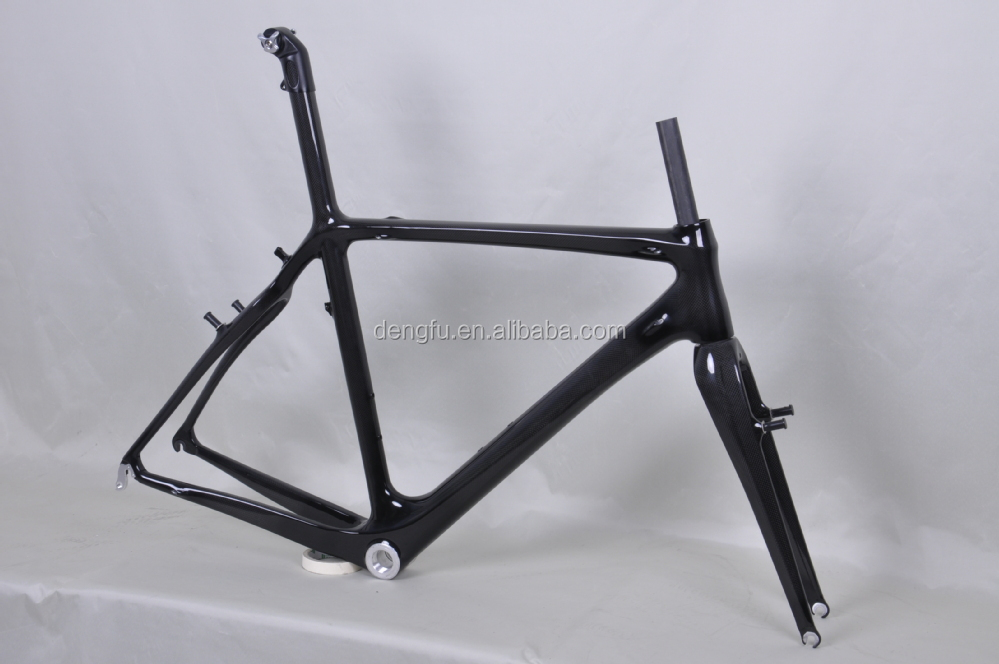 Chinese carbon frame , carbon cycle-cross frame fm058 BB30 Di2 with inner cable route