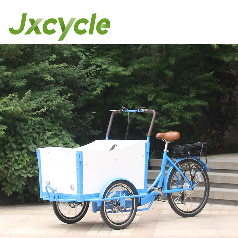 CE Certificate electric three wheel scooters cargo tricycle