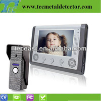 Smart Home talking home security systems 7-inch TFT LCD Video Door Phone TEC701VE11