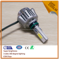 high and low beam 6V led motorcycle headlight white light