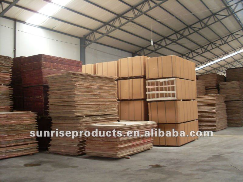 2017 High quality brown16mm construction formwork panels for USA market
