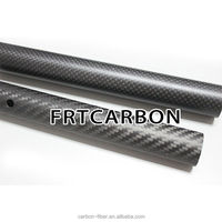 15mm 18mm 22mm 25mm 30mm 3K twill/plain carbon fiber round tube