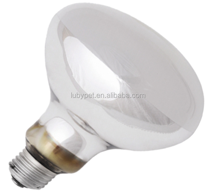 Color packaged Repti powersun bulb with hard glass, coating/ hard clear glass