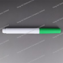 Automatic production line large fine tip green dry erasable window marker
