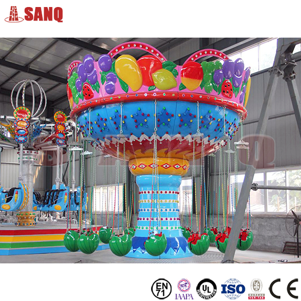 Children park item fruit flying chair for sale