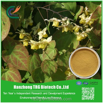 factory direct epimedium extract with icarrin with CE certificate