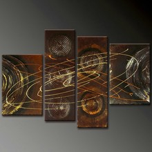 acrylic textured abstract paintings interior wall panels canvas art