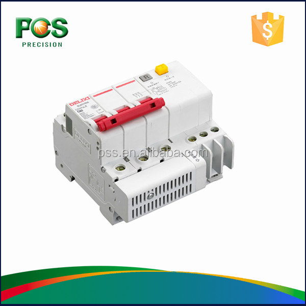 DELIXI DZ47sLE Thermal Circuit Breaker RCCB 3P Rated Residual Current 30mA 50mA 75mA