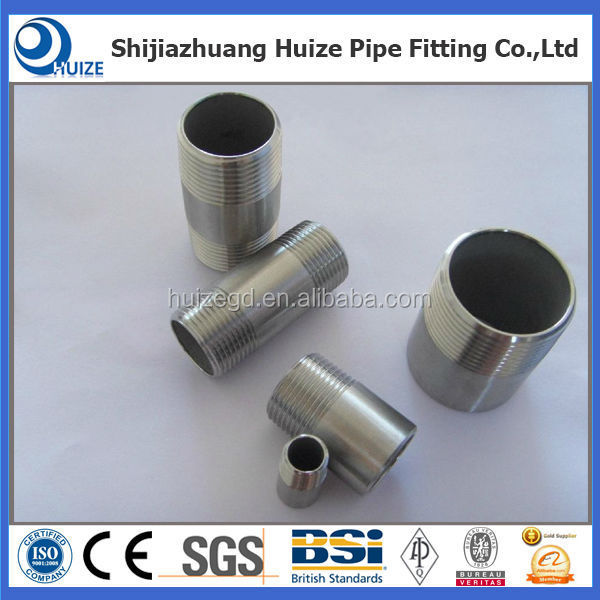 Stainless Steel Pipe Fitting / Elbow / Tee / Union / Nipple