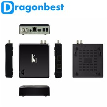 BEST Android 4.4 kitkat smart tv box K1 with dvb-t2 receiver