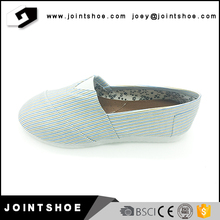 China new design ladies flat espadrilles summer shoes for wholesale