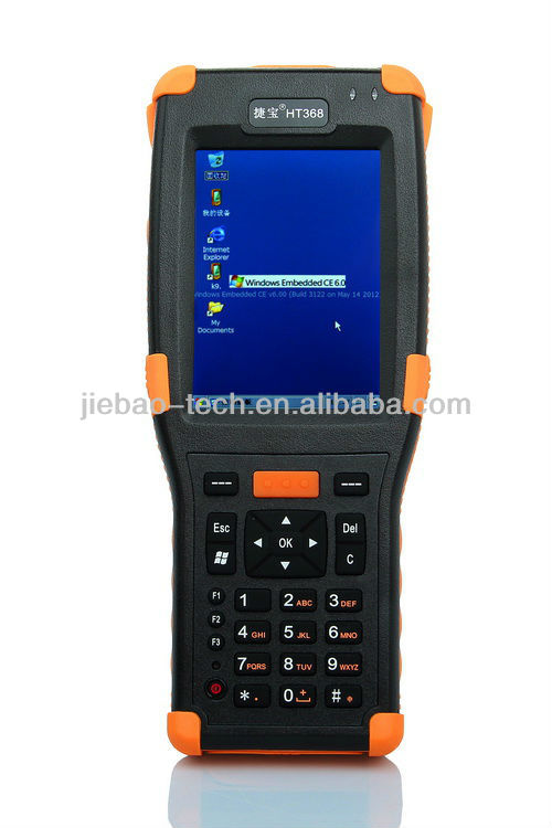 windowsCE mobile barcode scanner water meter reader pda