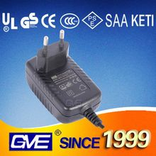 EU Wall Adapter Input 100-240V 9V 3A Switching Power Adapter For LED