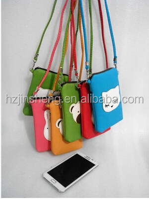 cell phone sling bag/cell phone neck hanging bag/phone bag, View ...