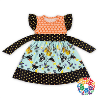 new fashion fancy one pieces baby girls party wear dress
