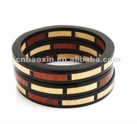 Fashion round wooden bangle
