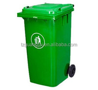 Plastic recycle waste bins with wheels
