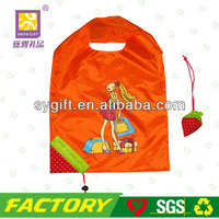 Free sample nylon foldable shopping bag