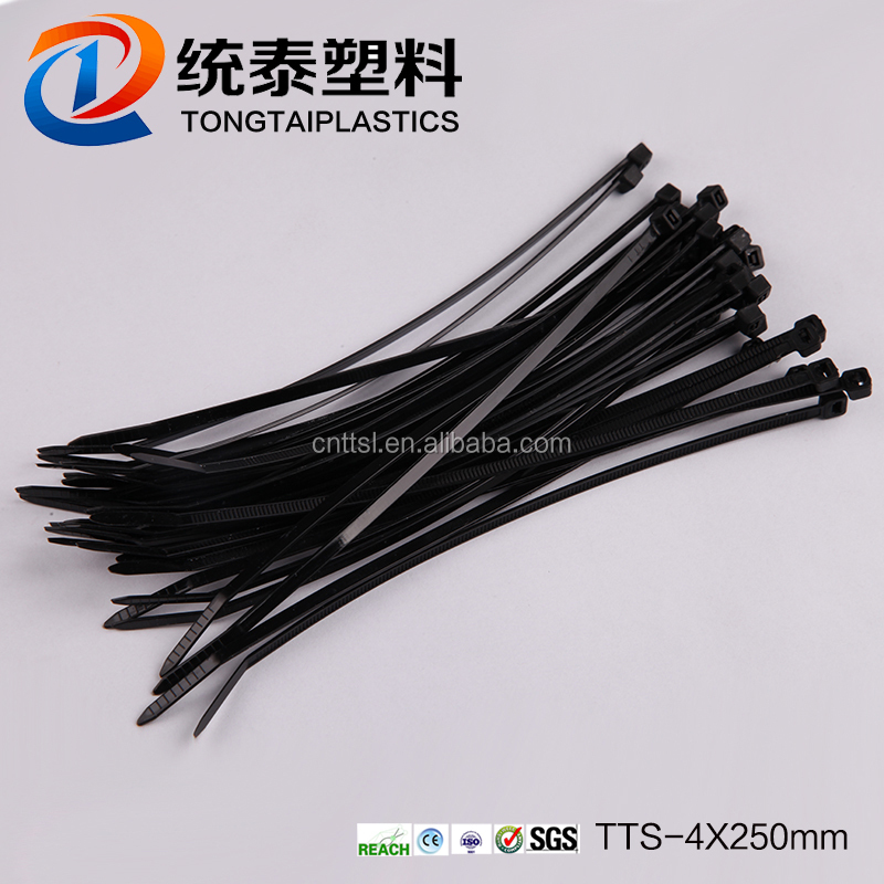 Twist ties/plastic cable ties /thin cable tie tool TTS-4*250