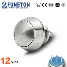 Professional emergency low voltage push button switch