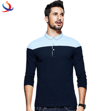 Custom Patchwork Contrast Color Cotton Polo Shirt Online Shopping China Clothes